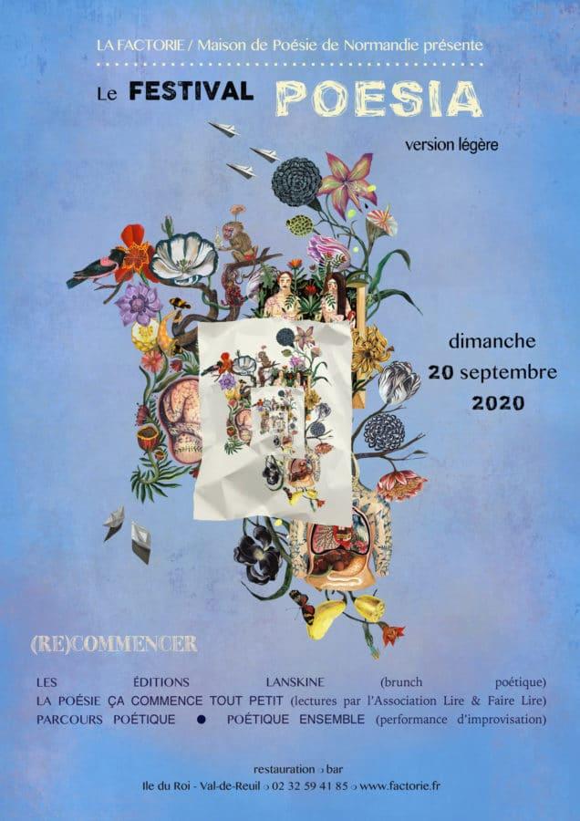 Journée de rattrapage du Festival POESIA @ La Factorie - Maison de Poésie de Normandie