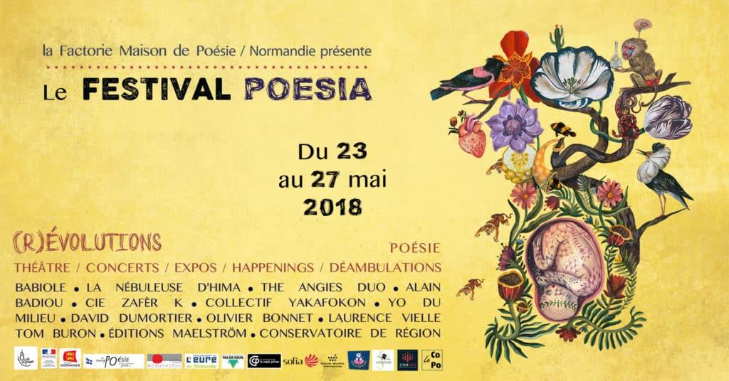 Festival POESIA #2 @ La Factorie - Maison de Poésie de Normandie | Val-de-Reuil | Normandie | France